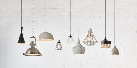 Varied pendant lighting design