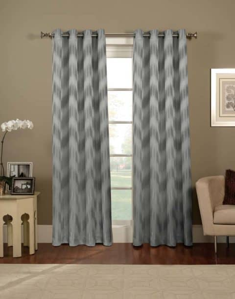 Awesome chevron curtain panels pattern