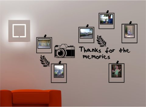Cute wall picture frames for bedroom ideas