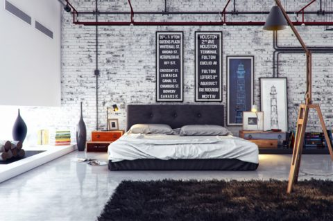 Most stylish industrial interior design