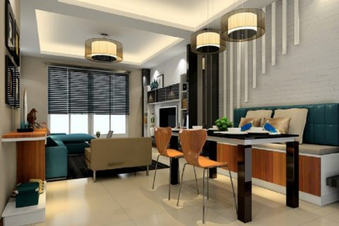 The latest living room ceiling lighting concept