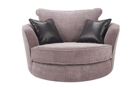 Cuddle chair with matching cushion