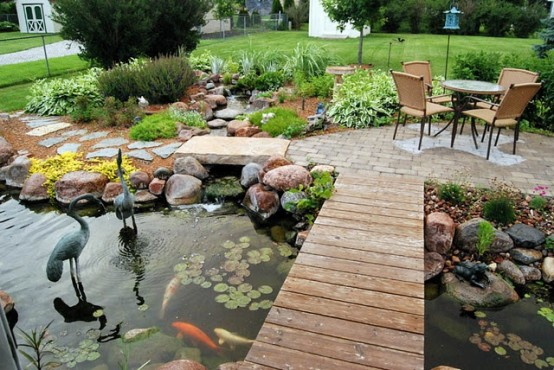 Best backyard ponds design ideas