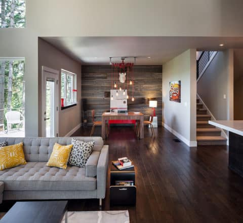 Contemporary living room with best interior