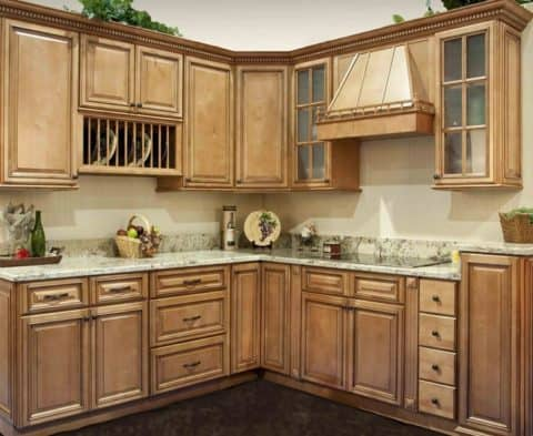 Classical kitchen cabinets concept