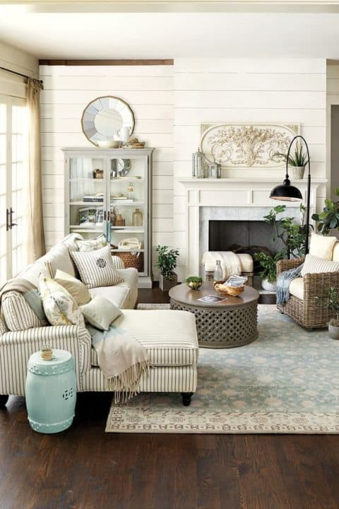 Small living room ideas with rattan furniture