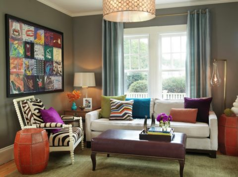 Small living room ideas with urban style