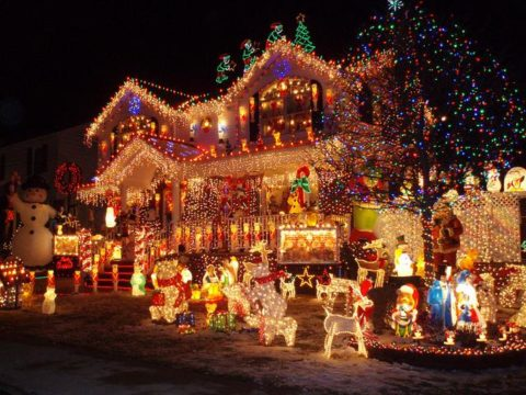 Amazing christmas decorations outdoor