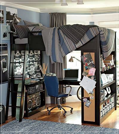 Bunk neds for teen boys room