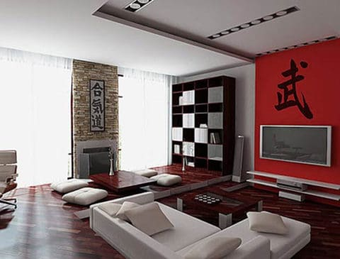 Chinese living room interior design