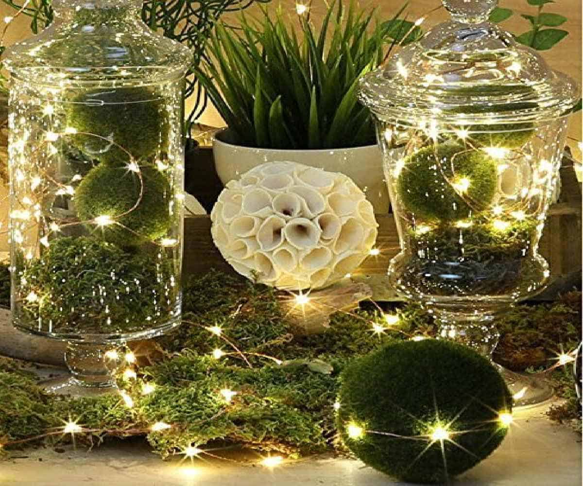 35 Cozy Indoor and Outdoor Christmas Decorations ... on Patio Decorating Ideas With Lights id=92486