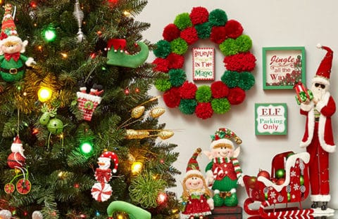Christmas decorations tree accessories