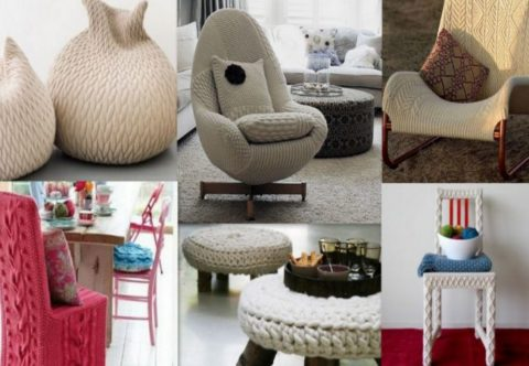 Knitted furniture so beautiful