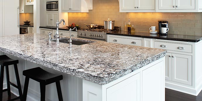 Long lasting kitchen countertops