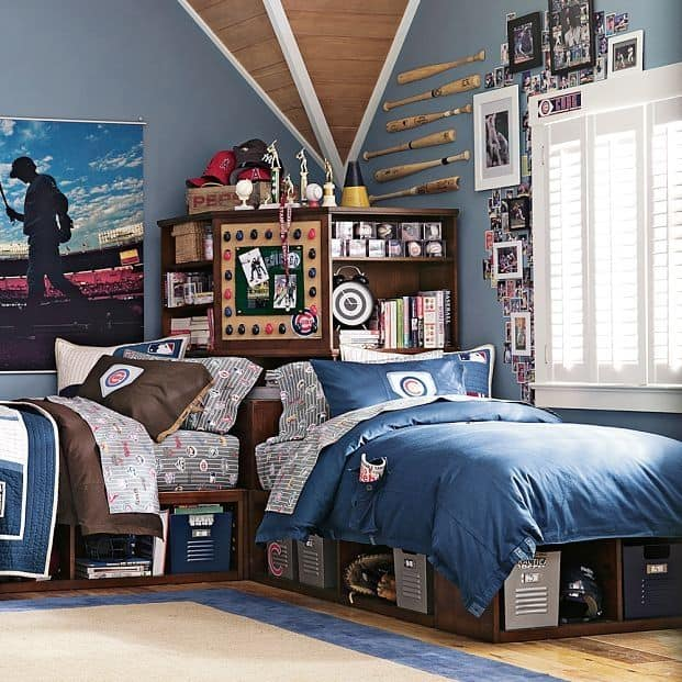 24 Modern and Stylish Teen Boy Room Ideas - Decoration Channel on Teenage Room Colors For Guy's  id=13766