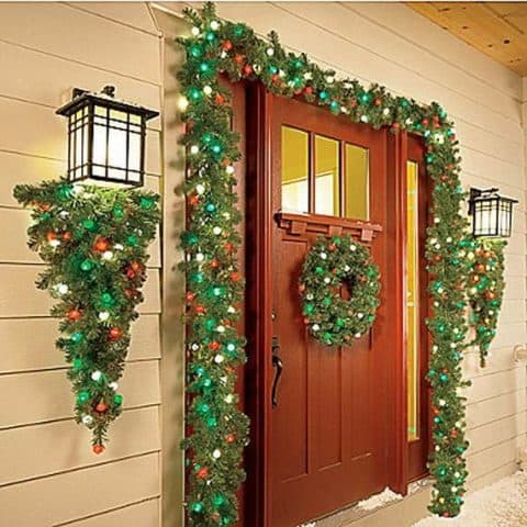 Trendy outdoor christmas decorations