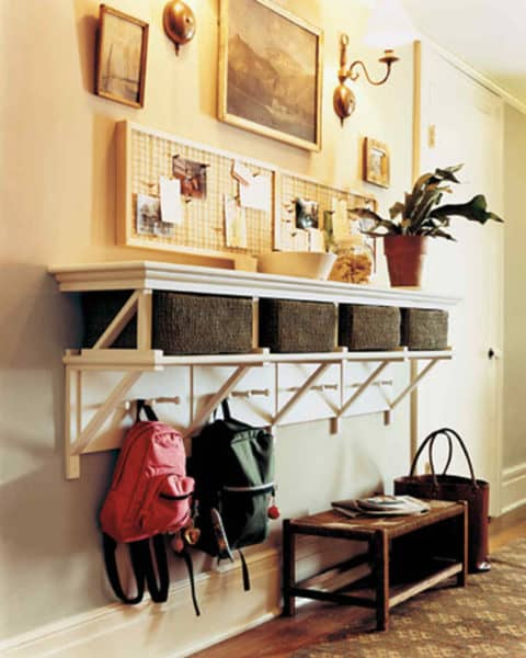 Entryway ideas with storage