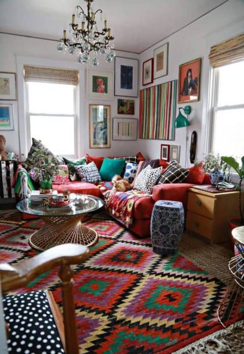 Ethnic boho home ideas