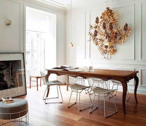 Fabulous wire dining chairs