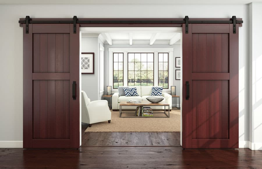 20 Best Wooden Sliding Doors For Your Living Room Decoration Channel