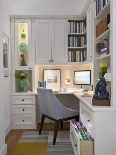 Home office for small area