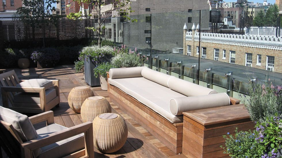 Inspiring rooftop deck ideas