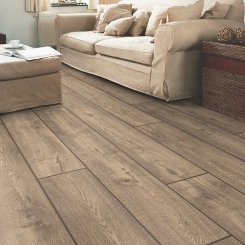 Laminate flooring for living room