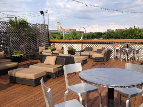 Rooftop deck furniture ideas