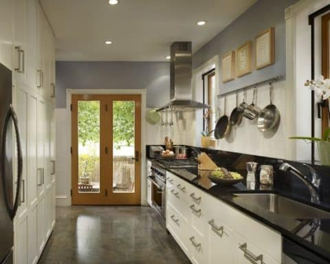 Amazing modern kitchen design white cupboard fairmount row home