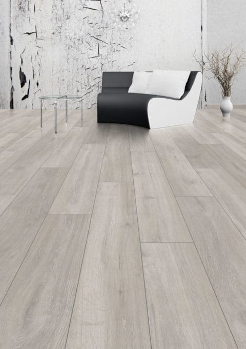 Stylish laminate flooring