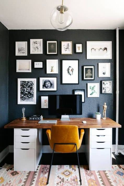 Wall decor for home office