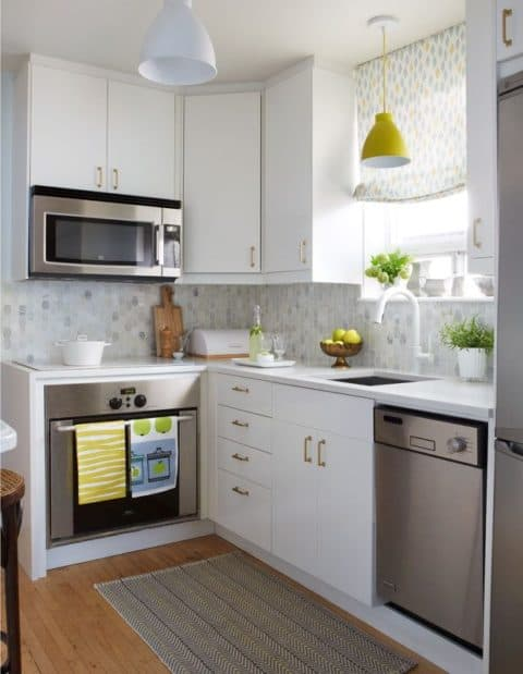 L shape small kitchen ideas