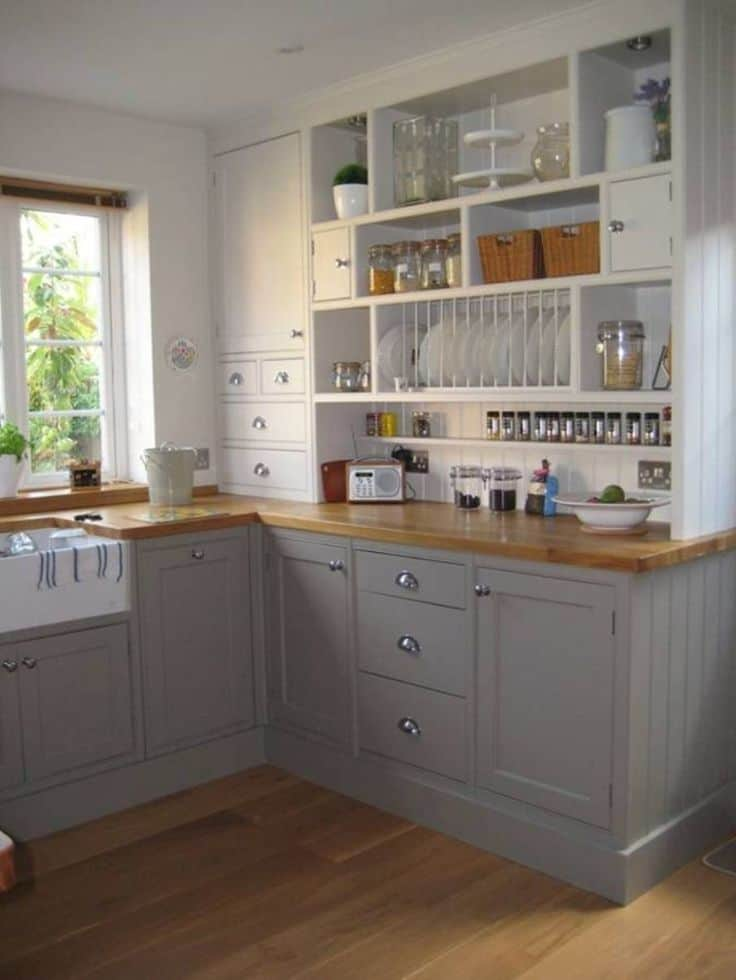 Neat and Organized Small Kitchen Ideas - Decoration Channel