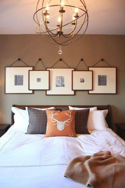 Beautiful bedroom wall decor