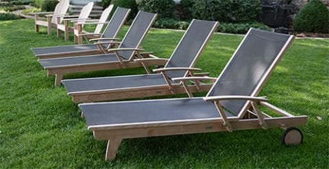 Cheap outdoor chairs and loungers