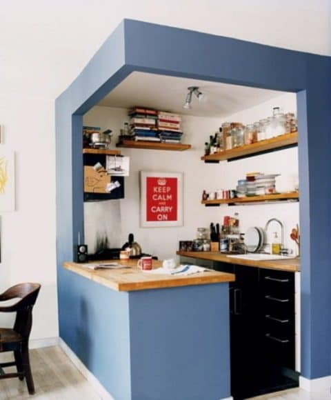Cube small kitchen ideas