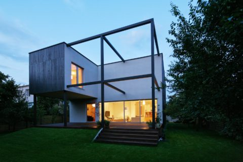 Cube house for modrn living