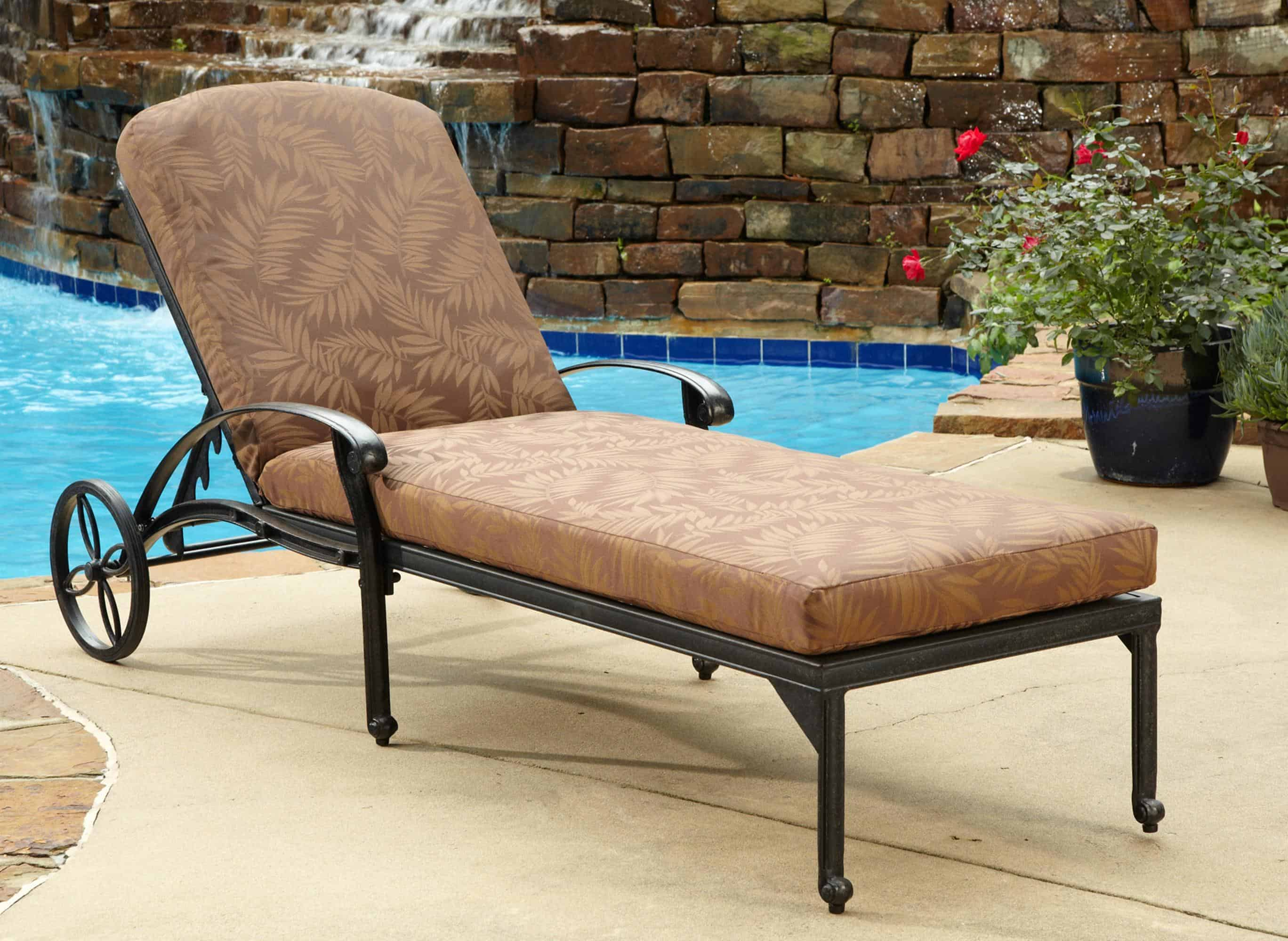 Ethnic outdoor chairs and loungers