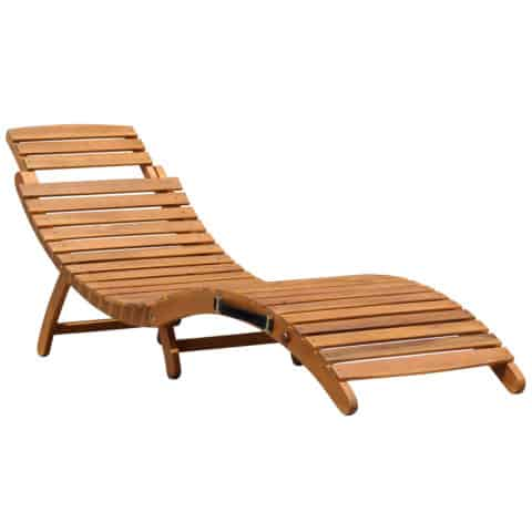 Folding outdoor chairs and loungers
