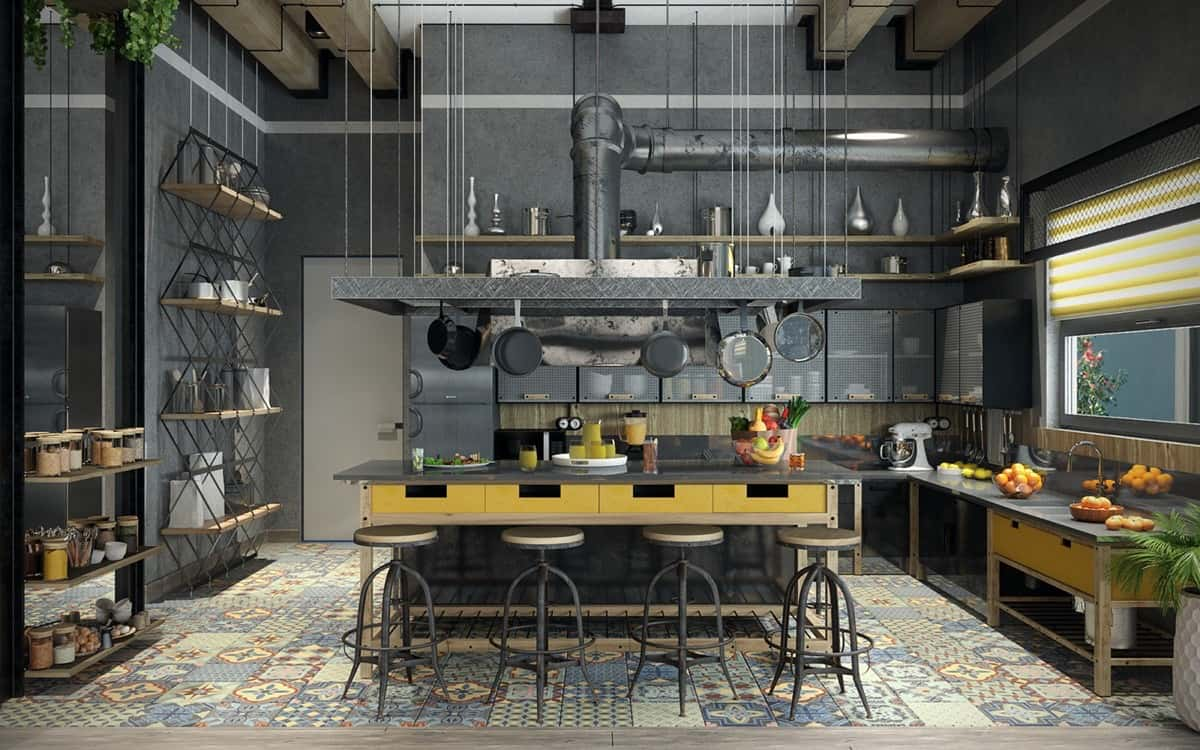 industrial kitchens design 20 marvelous industrial kitchen design that will make you 1849