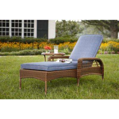 Outdoor chairs and loungers with attach table