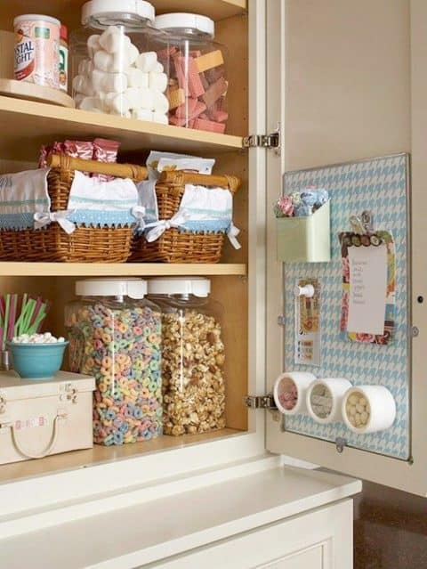 Pinboard ideas for kitchen
