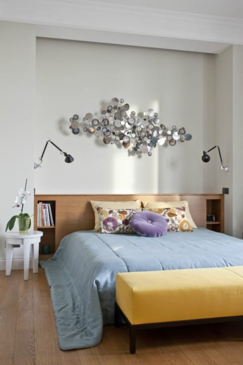Stylish bedroom wall decor