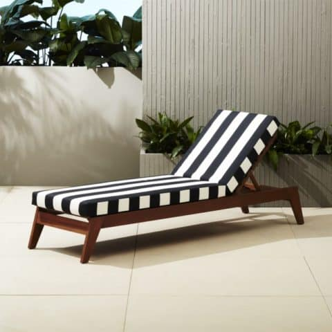 Stylish outdoor chairs and loungers
