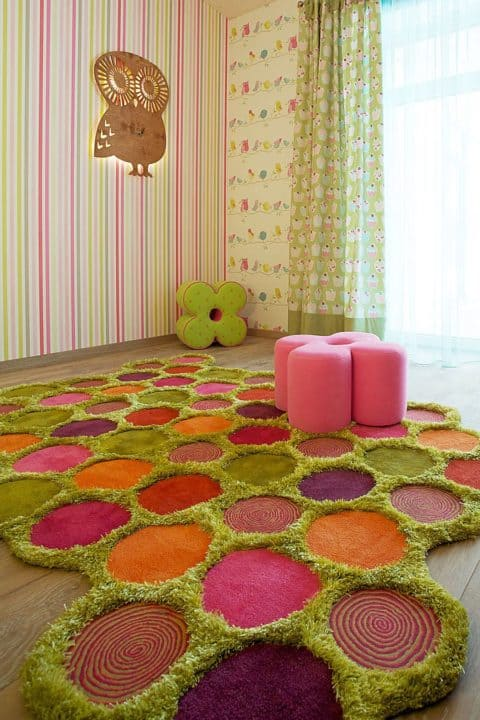 Unique rugs for kids rooms