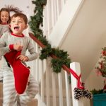 Christmas Decorating Ideas for Stairs and Landing